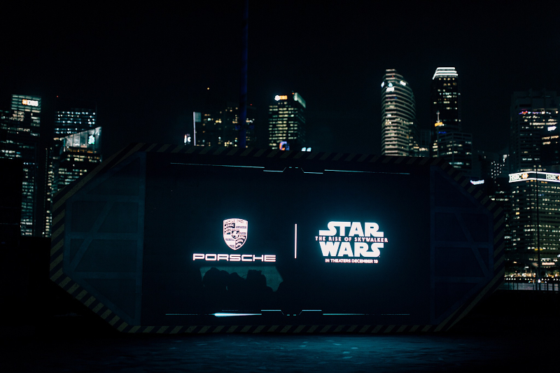 Porsche X Star Wars 2 xe Taycan ELLE Man