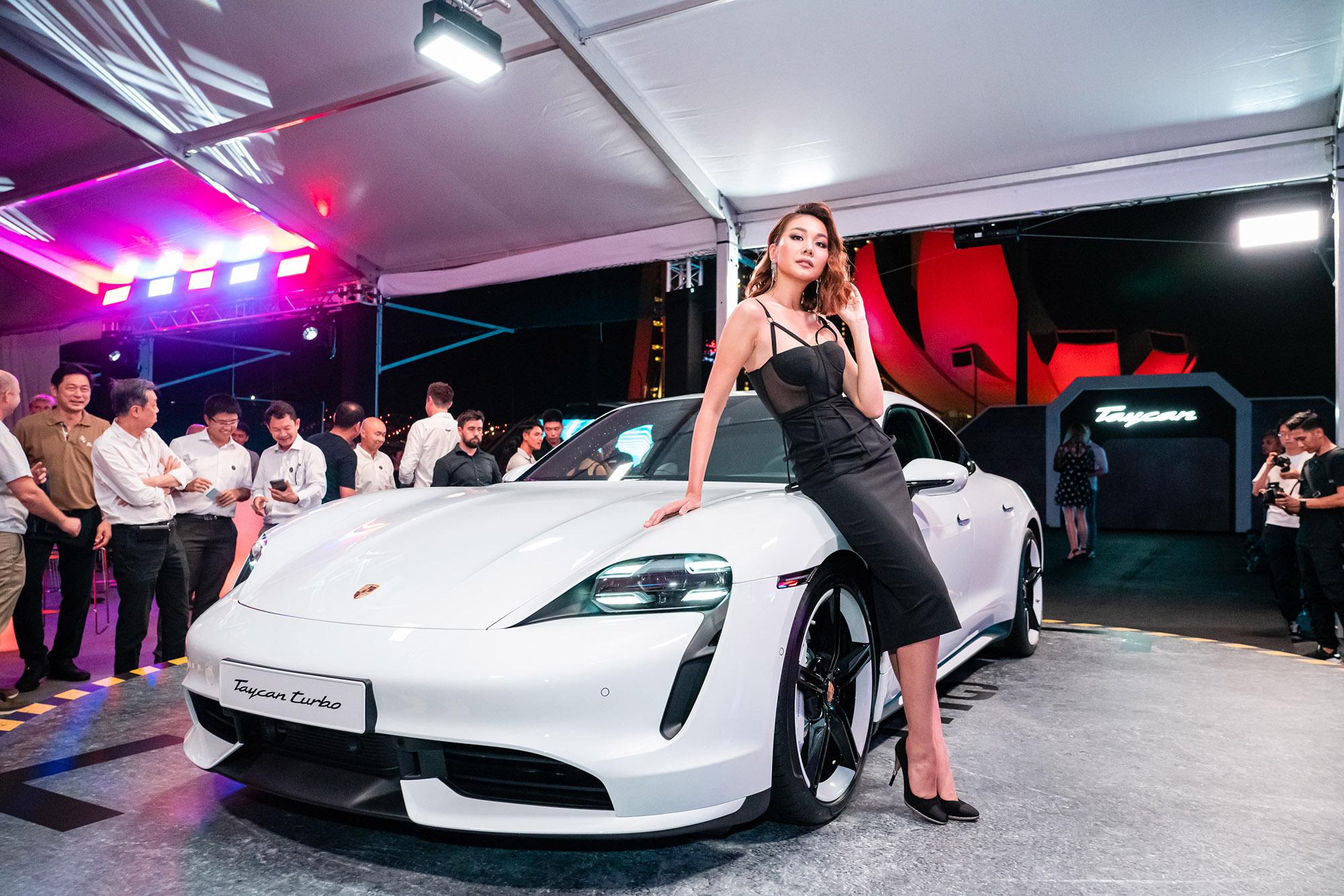 thương hiệu Porsche siêu mẫu Thanh Hằng