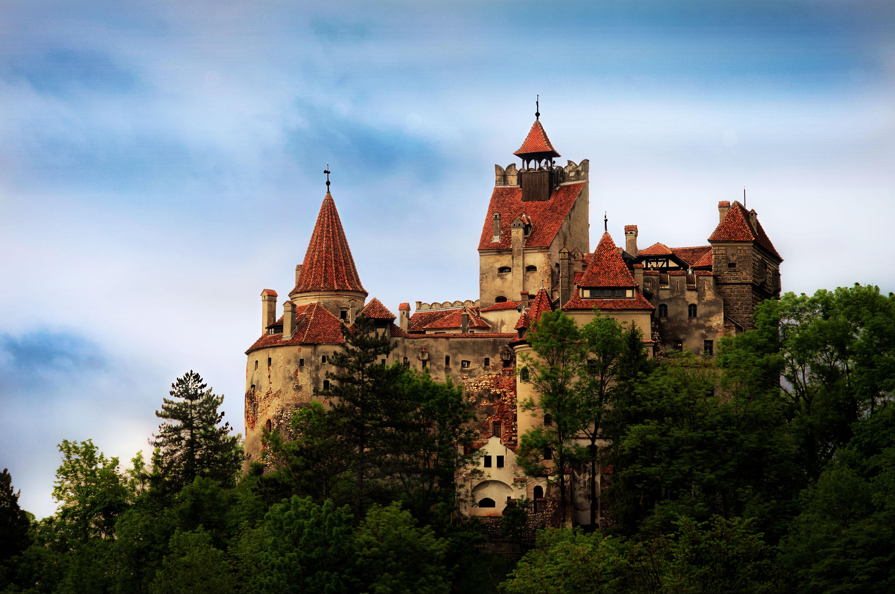 lâu đài Bran Rumani cổ tích