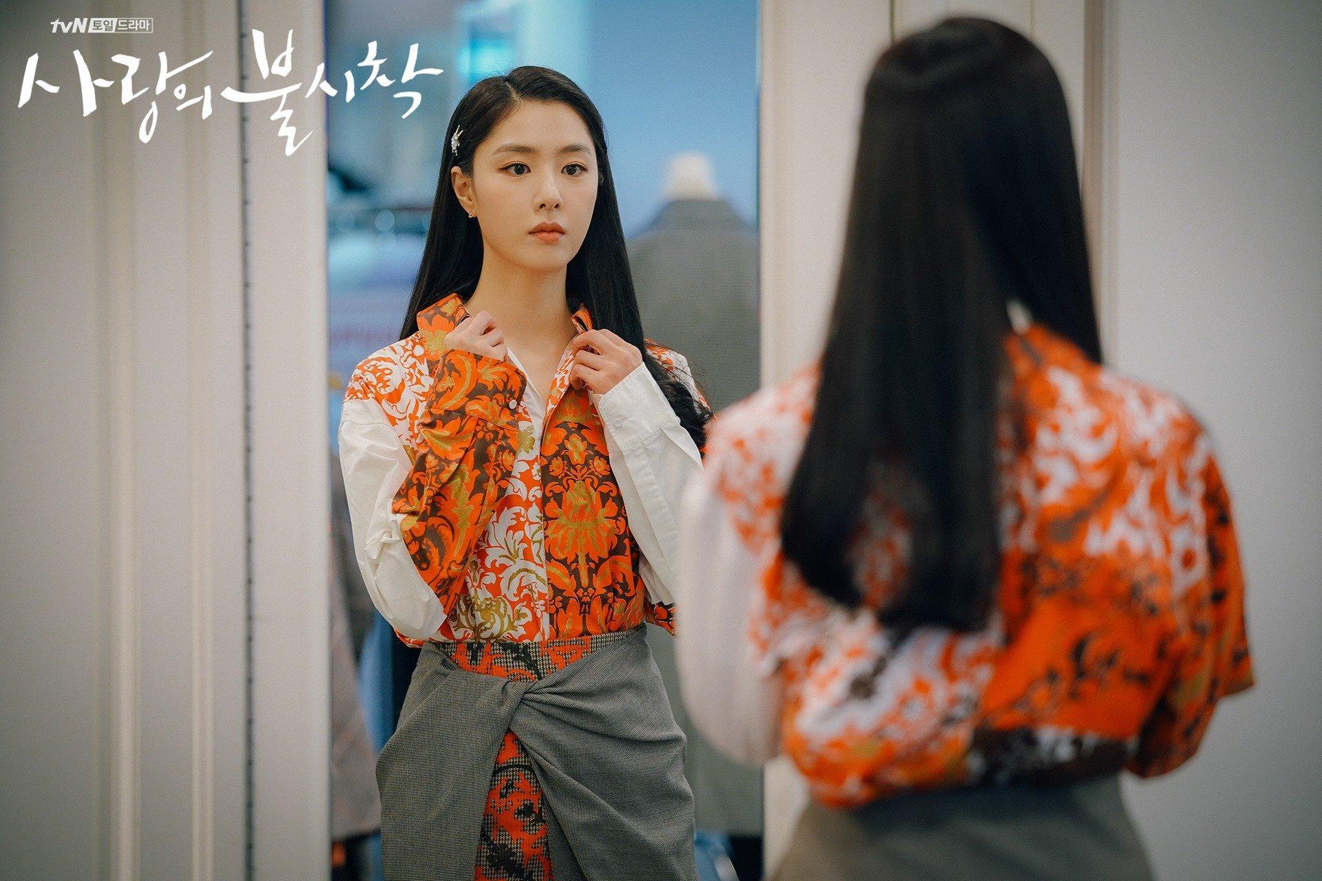 thời trang trong phim crash landing on you - seo dan 1