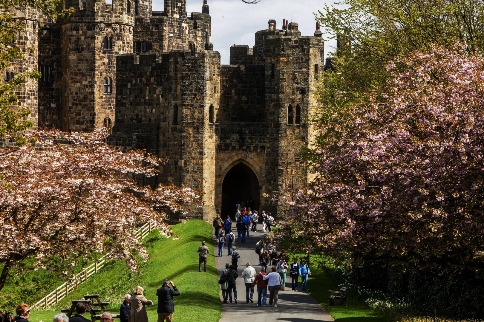 Alnwick castle Anh