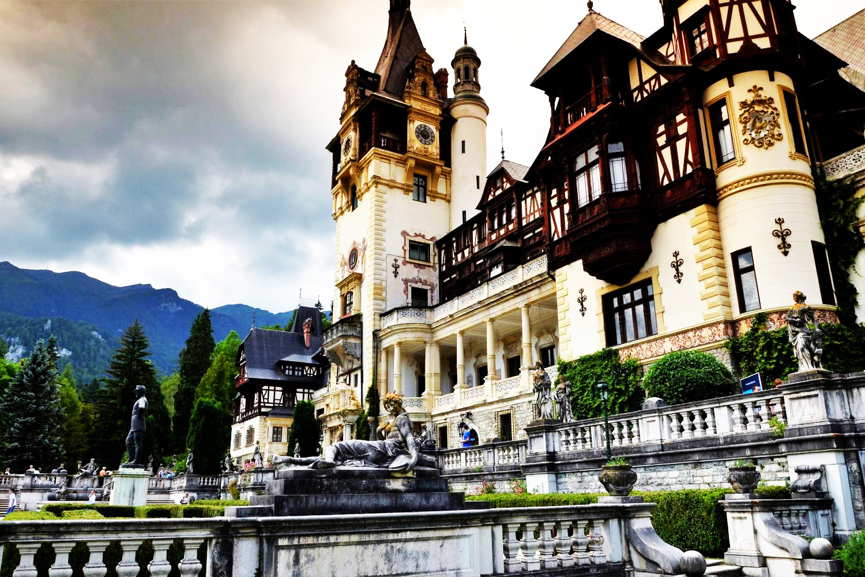 Bran castle Rumani