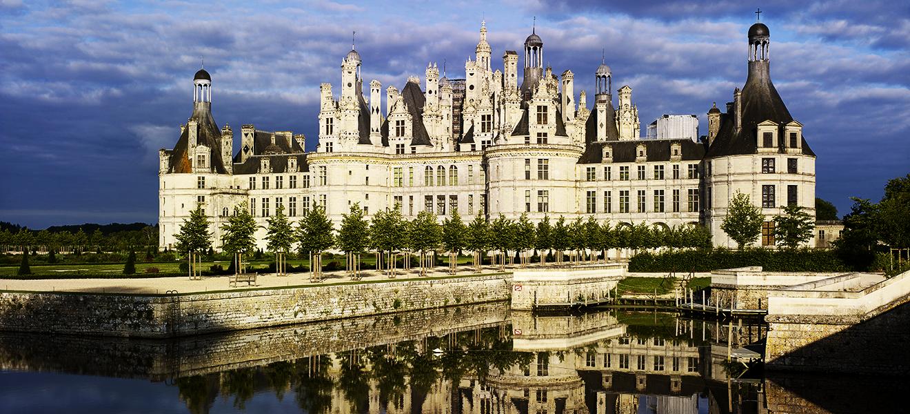 Château de Chambord castle Pháp