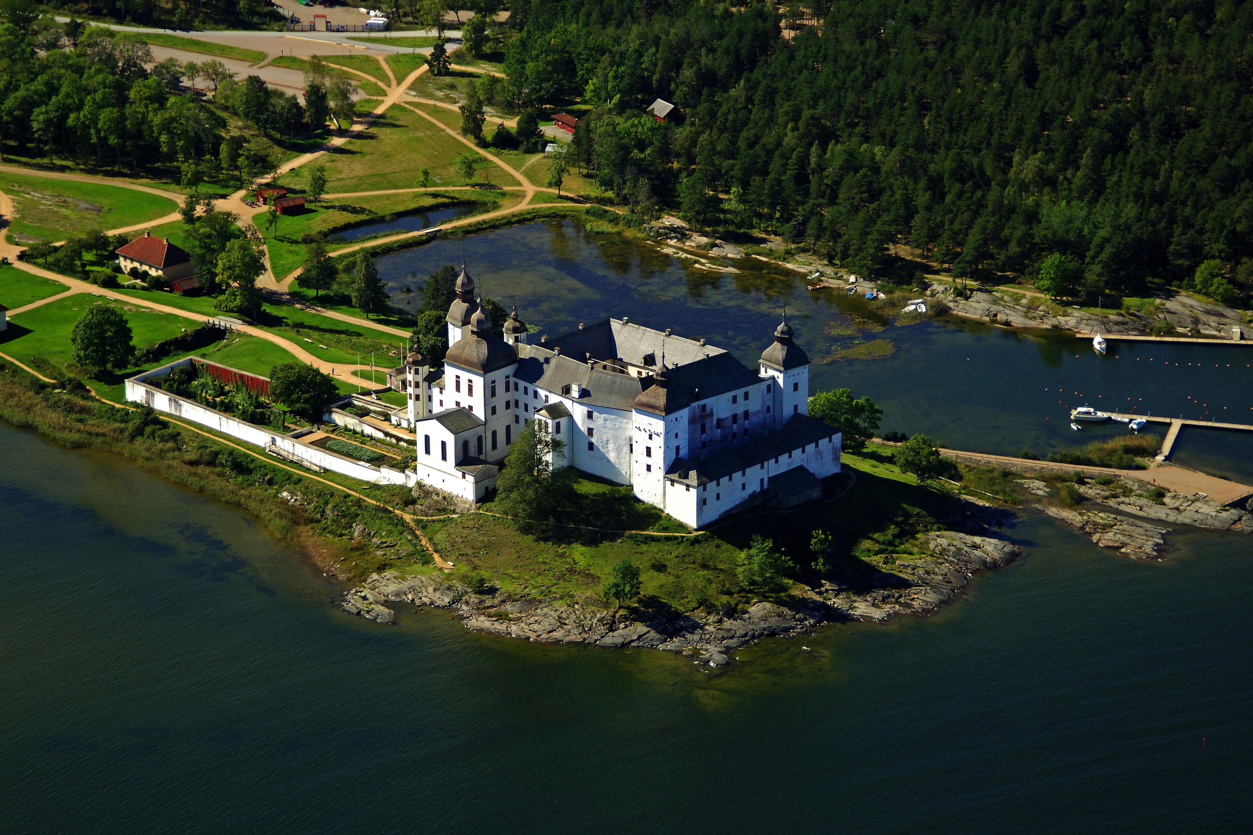 lâu đài Läckö Thụy Điển