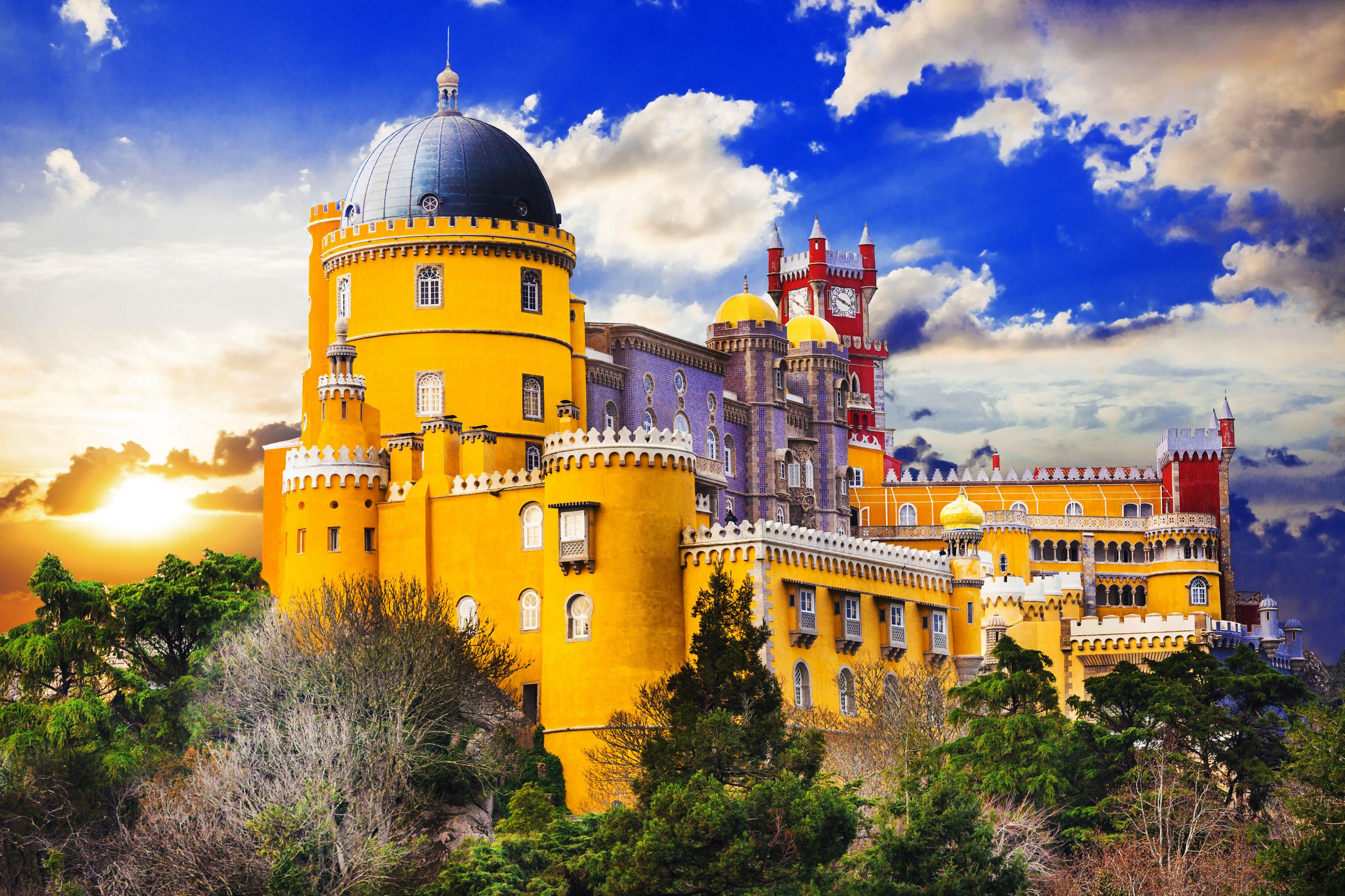 cung điện hoàng gia Pena Tây Ban Nha
