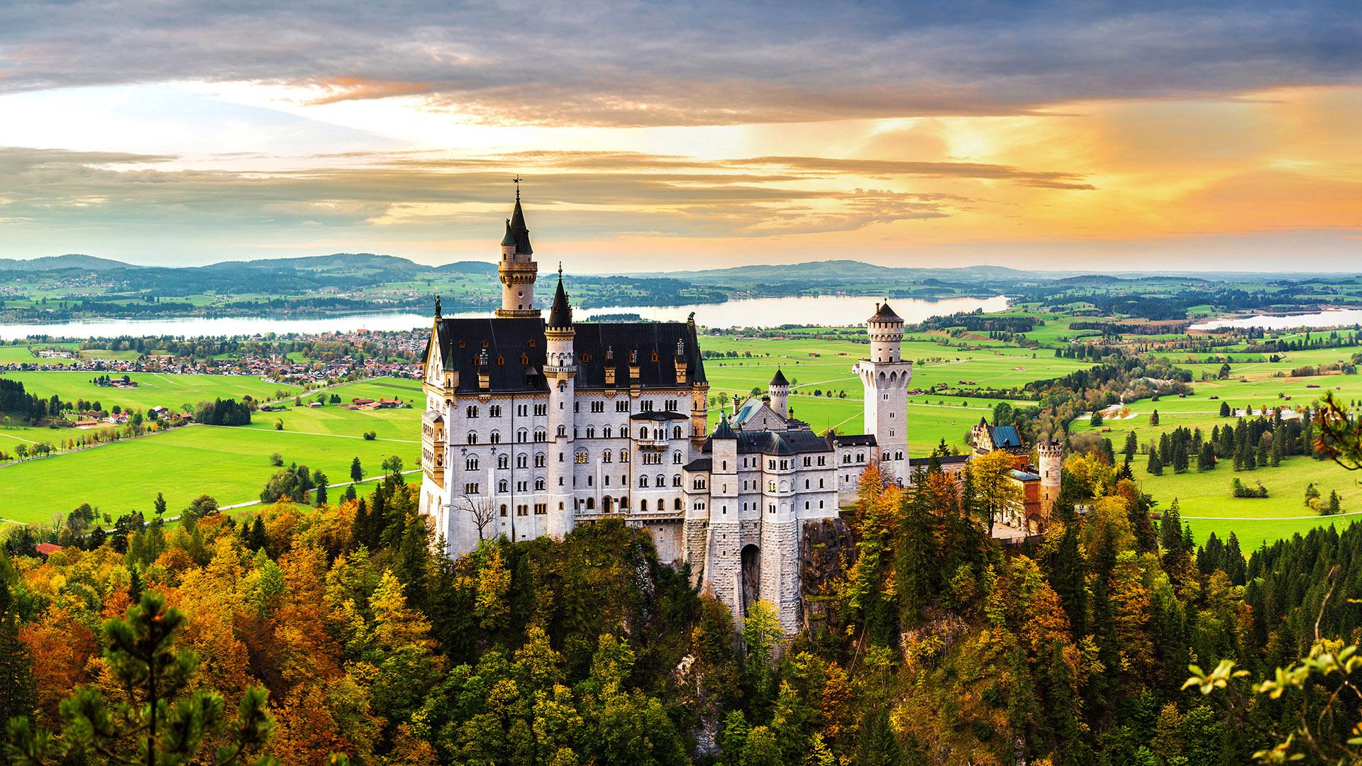 lâu đài Neuschwanstein Đức