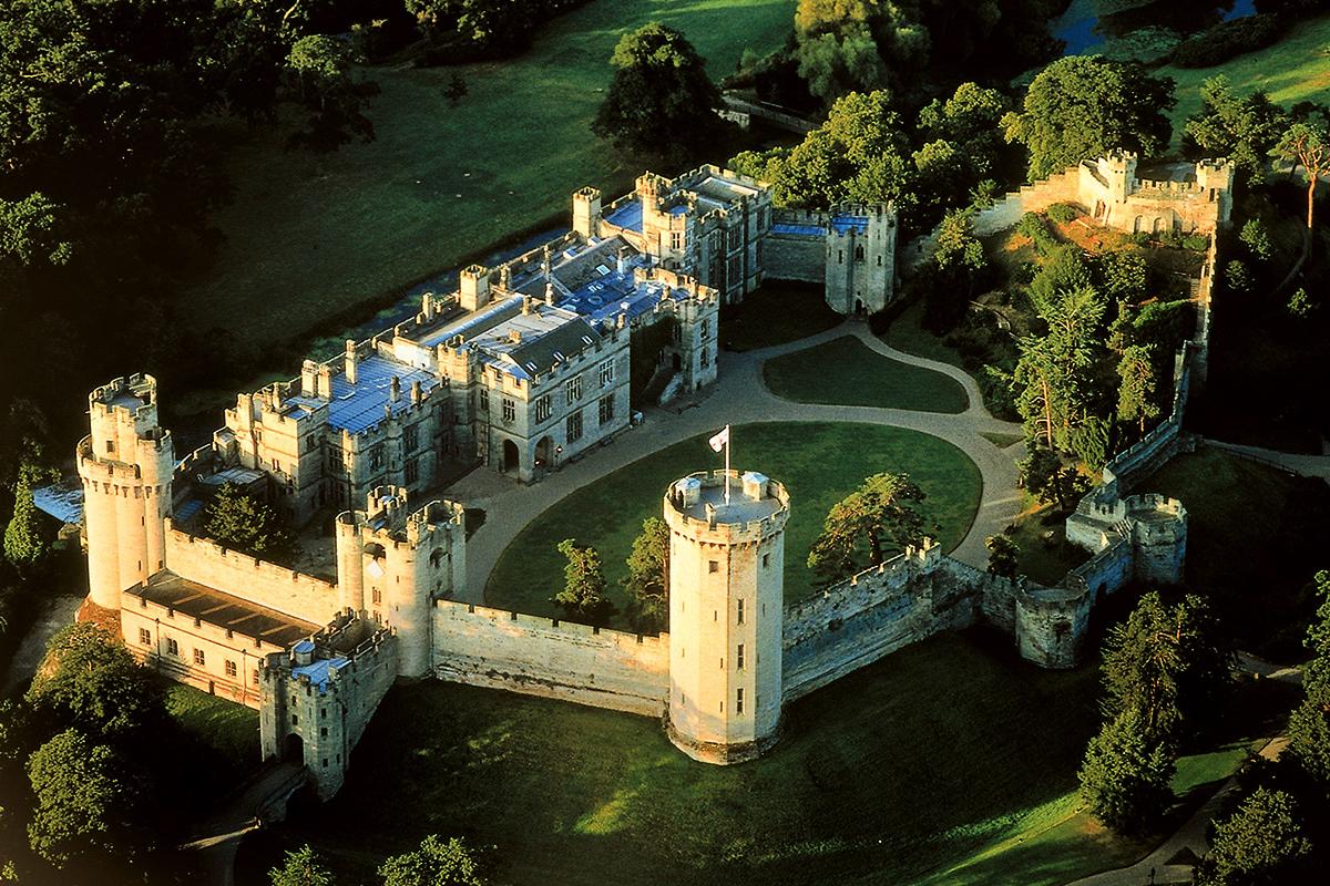 lâu đài Warwick Anh