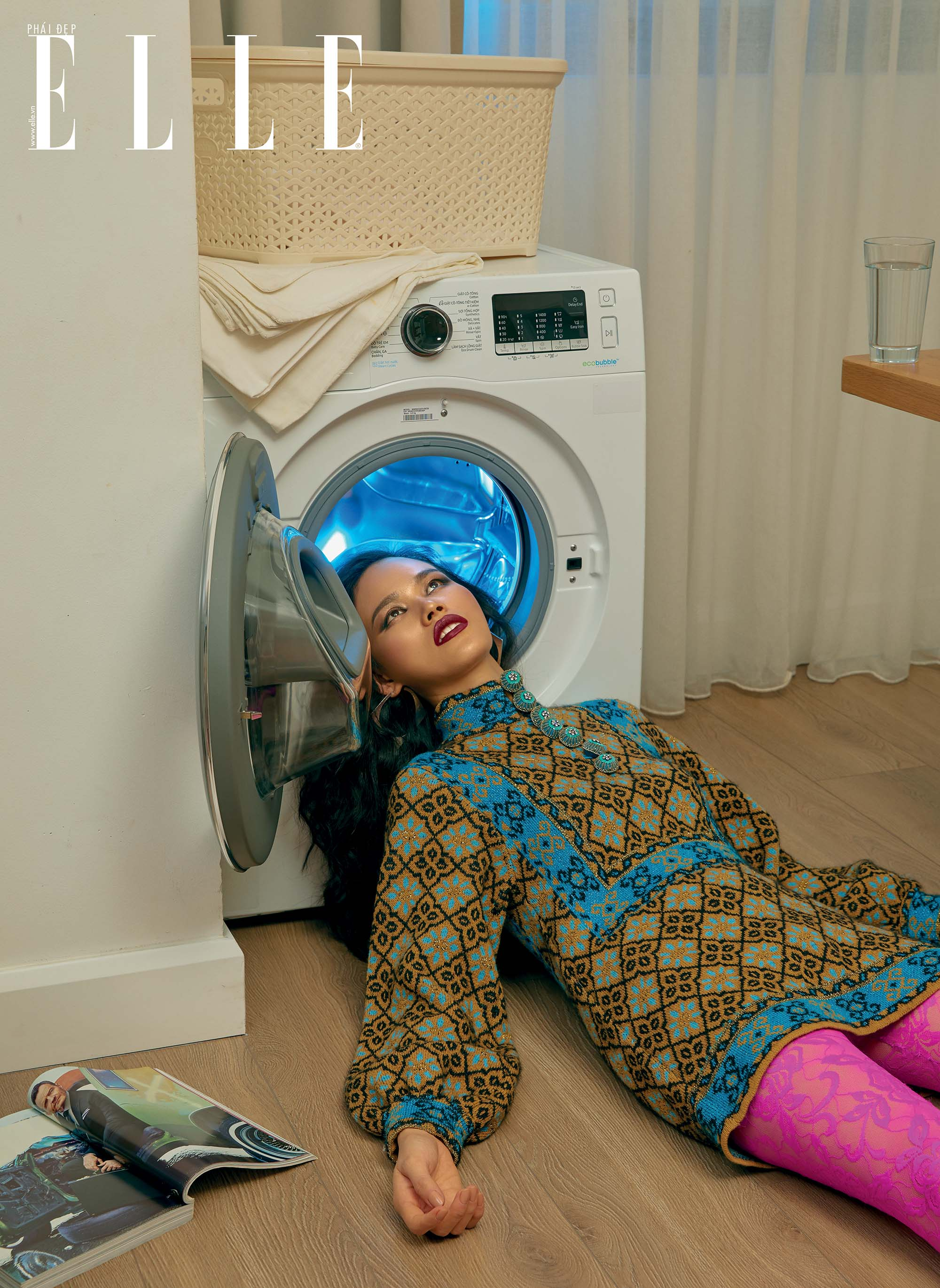 bộ ảnh tạo dáng với máy giặt