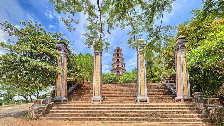 chùa Thiên Mụ du lịch tâm linh