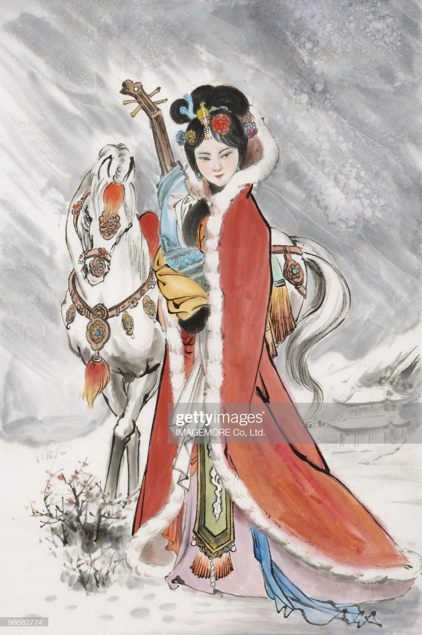 phụ kiên truyền thống trung quốc vương chiêu quân