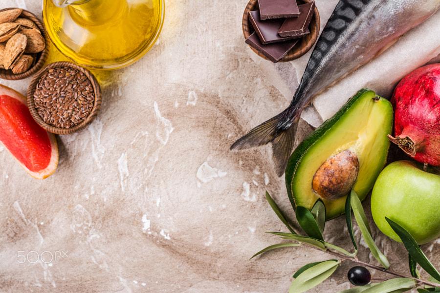 thực phẩm giàu axit béo thiết yếu