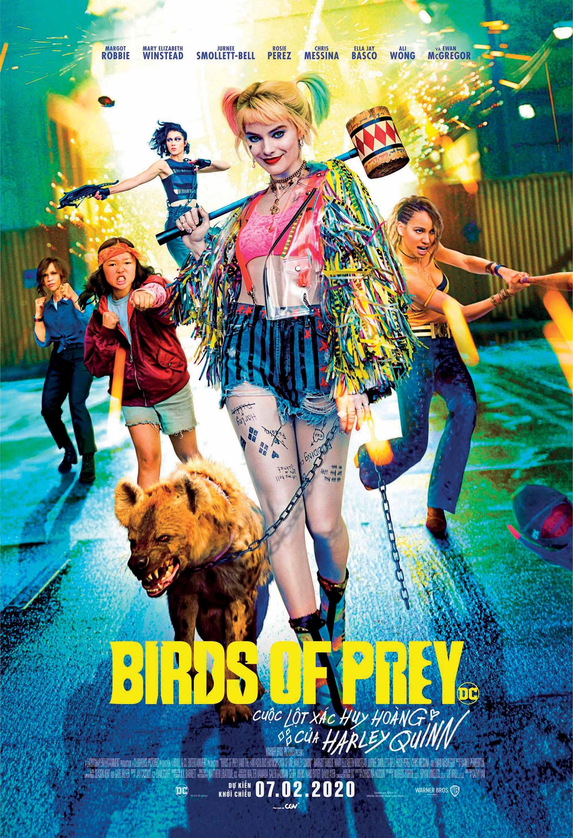 phim chiếu rạp Birds of Prey