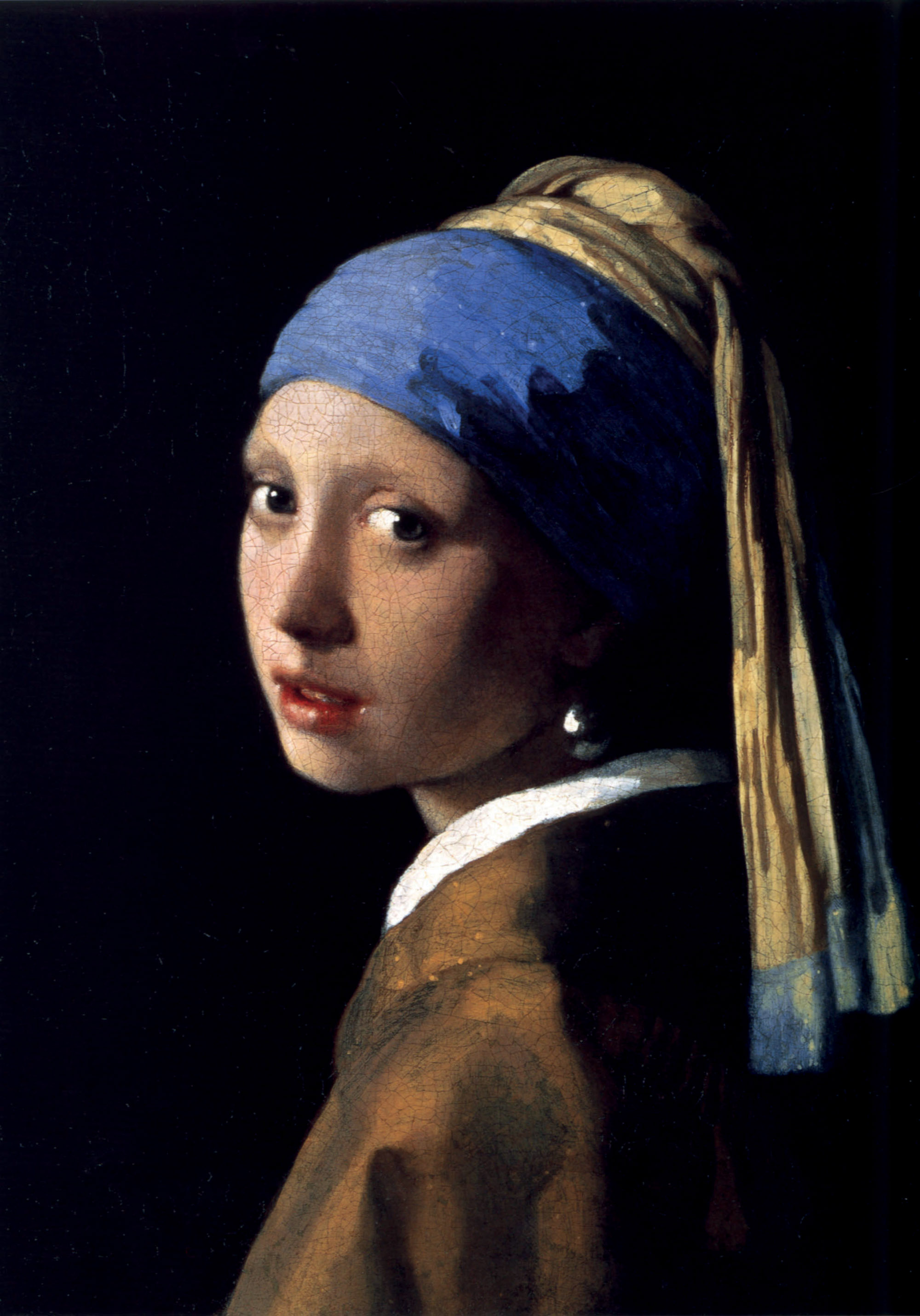 tác phẩm The Girl with the pearl earring