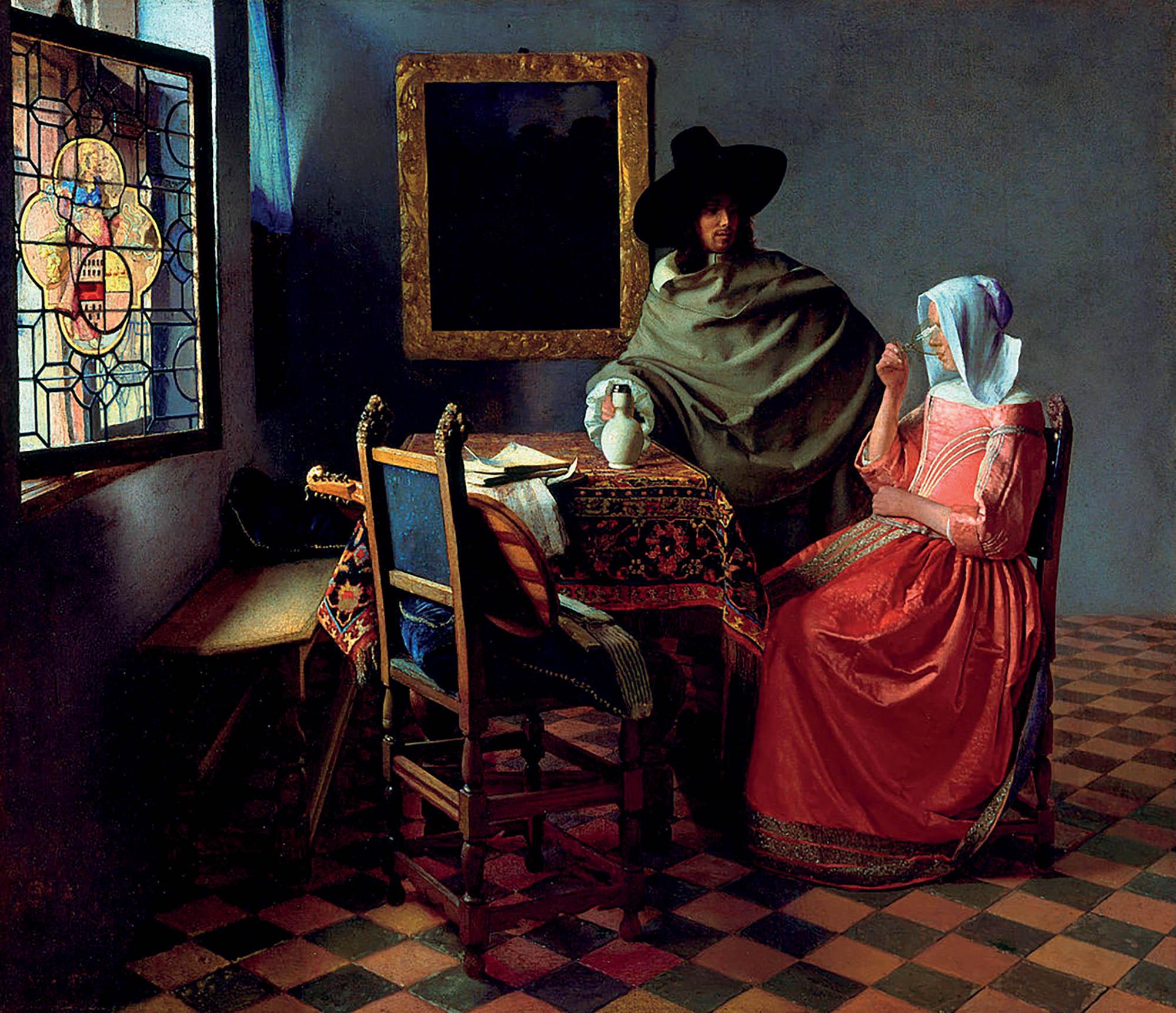 tác phẩm của Johannes Vermeer