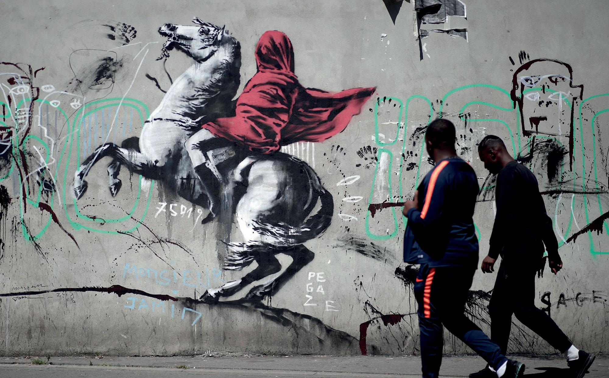 hội họa tác phẩm của họa sĩ đường phố Banksy