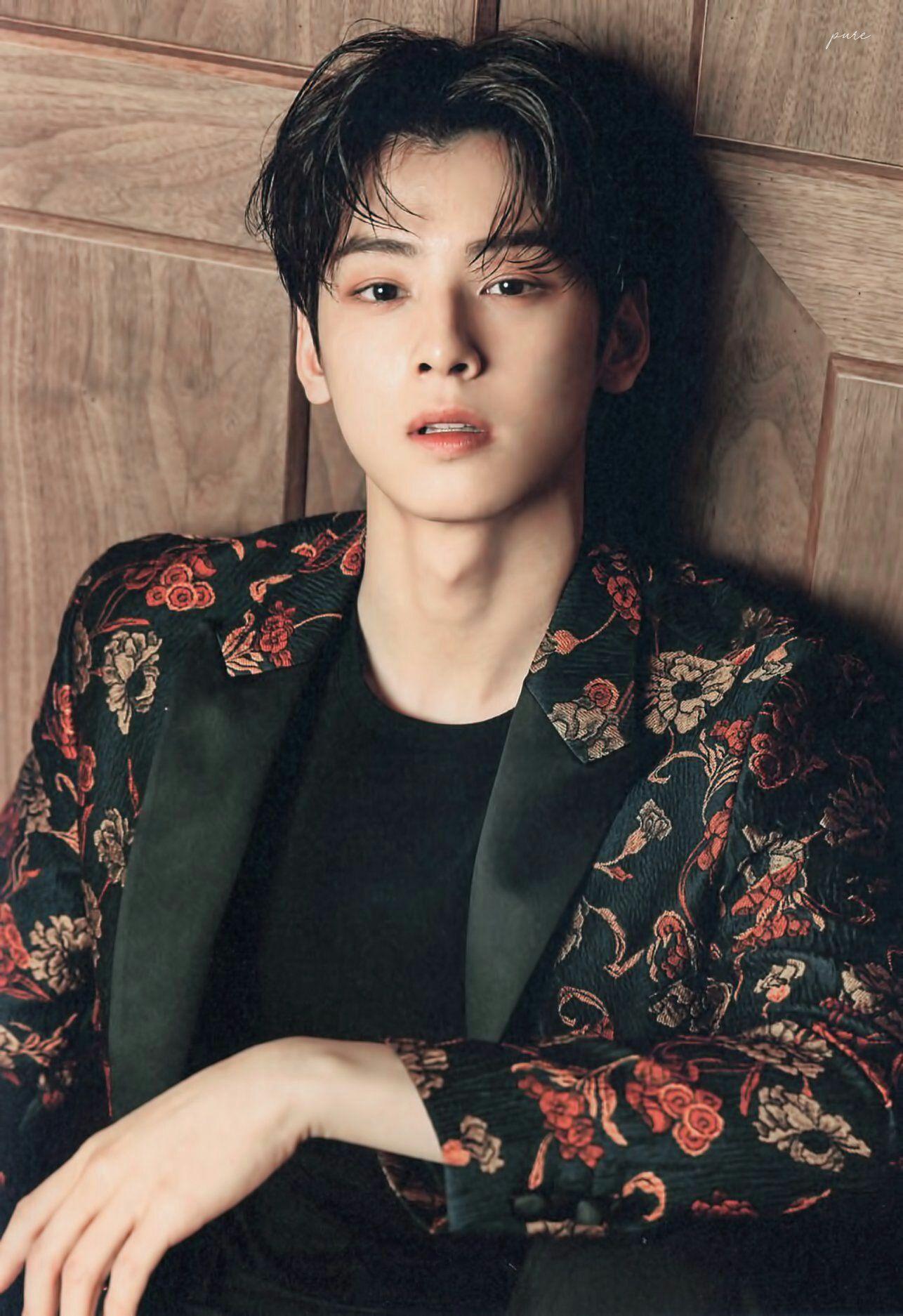 nam thần tượng k-pop cha eun woo