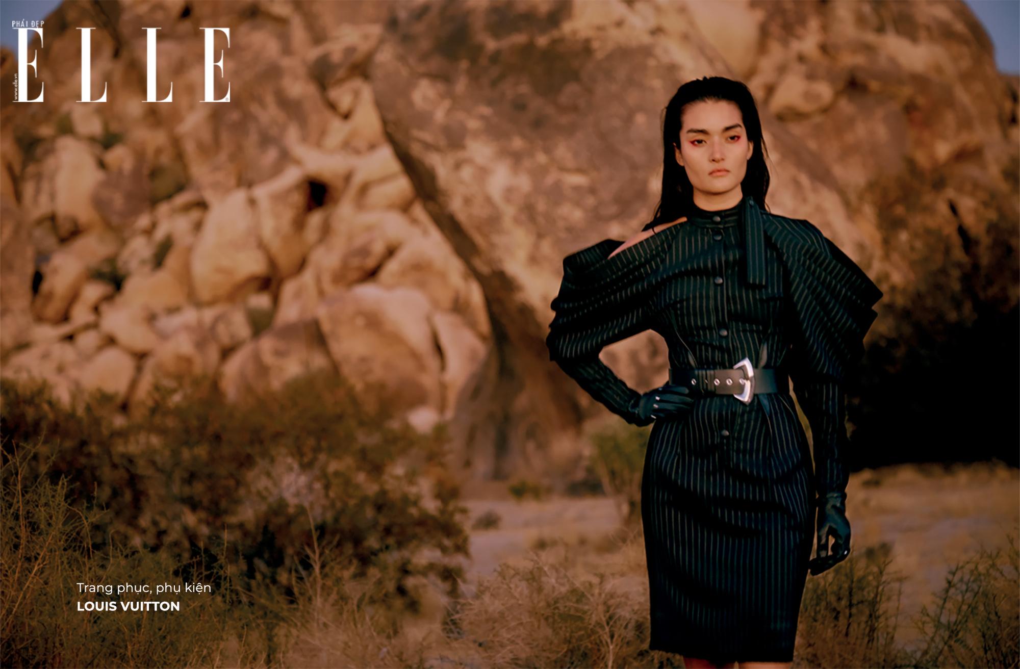 bộ ảnh trang phục phụ kiện Louis Vuitton