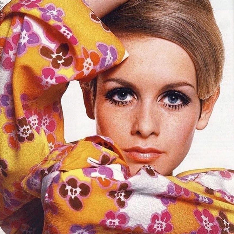 Biểu tượng thời trang Twiggy những năm 1960 trong thiết kế của Mary Quant