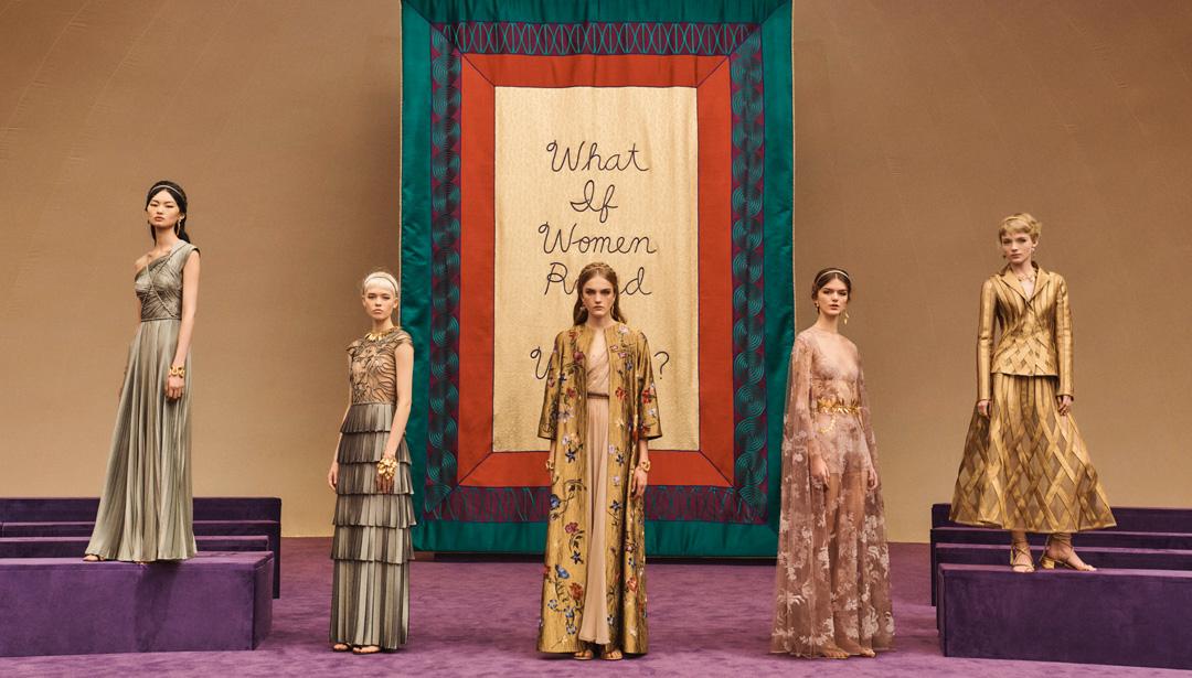 bộ sưu tập dior haute couture xuân hè 2020
