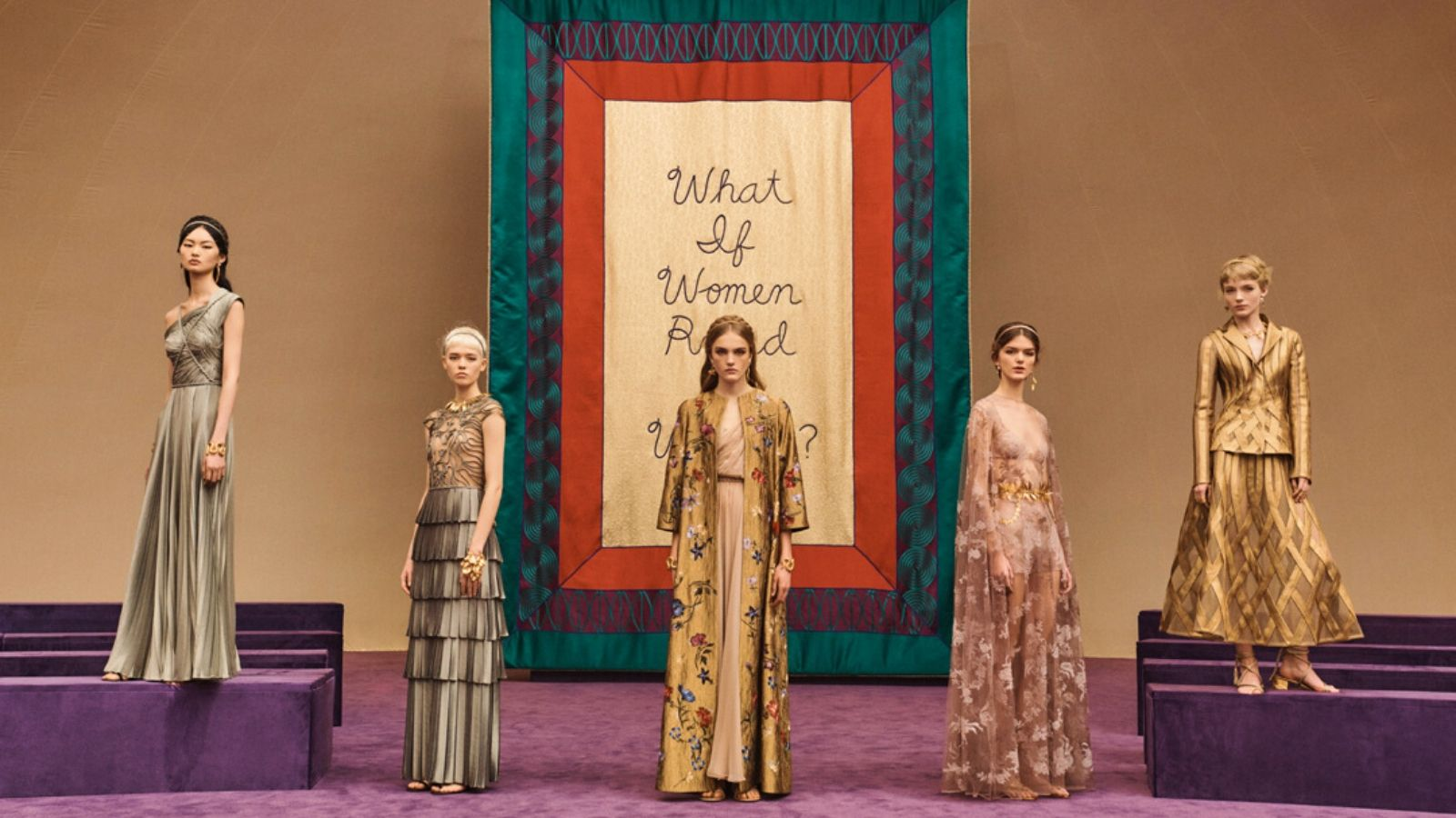 các thiết kế trong bst dior haute couture xuân hè 2020 feature
