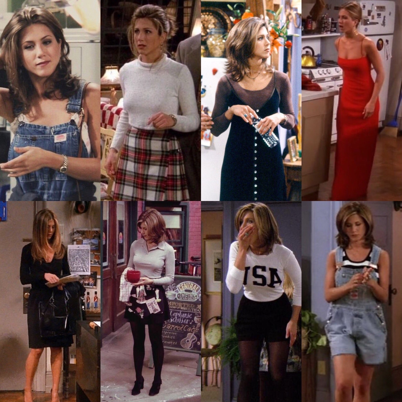 Những bộ trang phục đưa Jennifer Aniston trở thành biểu tượng thời trang
