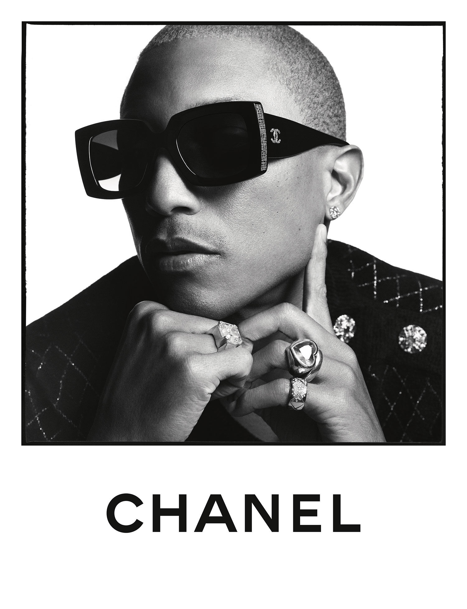 BST kính mắt Chanel Xuân - Hè 2020 Pharrell Williams