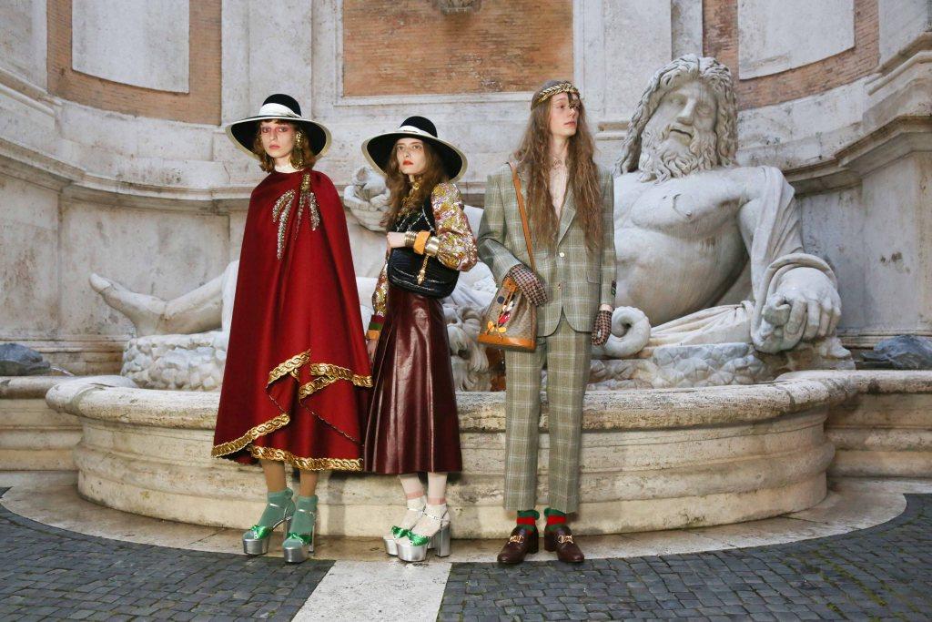 tin thời trang bst gucci cruise 2020 tại rome