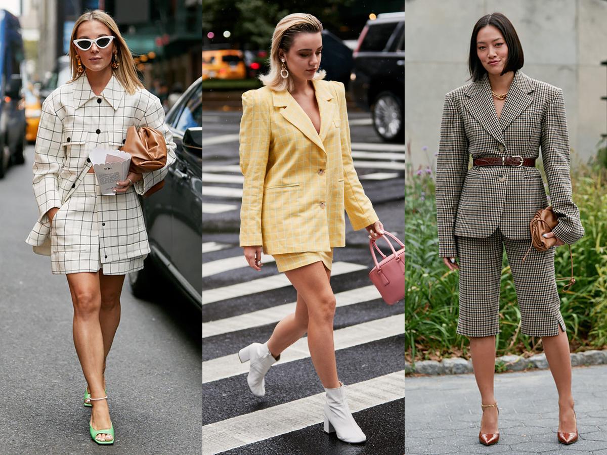 Blazer kết hợp cùng quần hoặc váy ngắn cho những cô nàng Bảo Bình ưa sự năng động