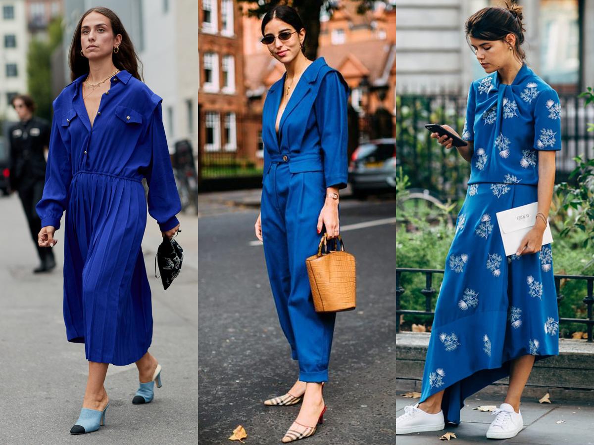 Classic blue - màu sắc trang phục thích hợp cho thời trang cung hoàng đạo Bảo Bình
