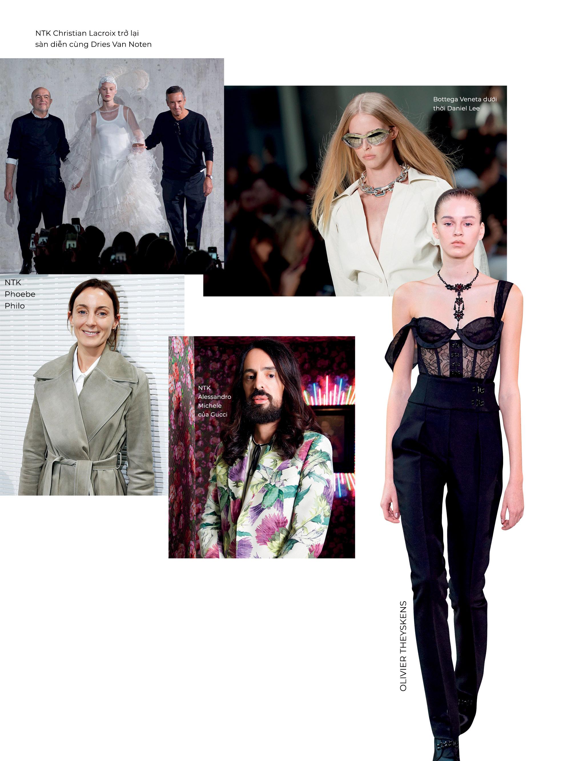 thế giới thời trang thập niên 2020 nhân tố mới và bậc tiền bối