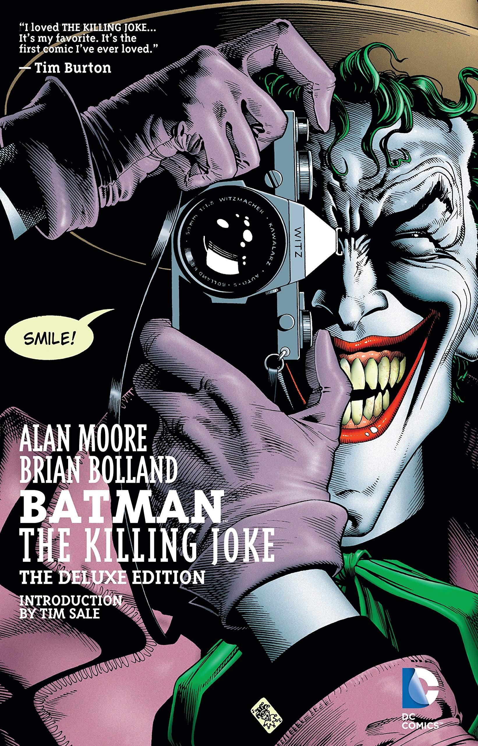 Bìa đầu truyện Batman: The Killing Joke.