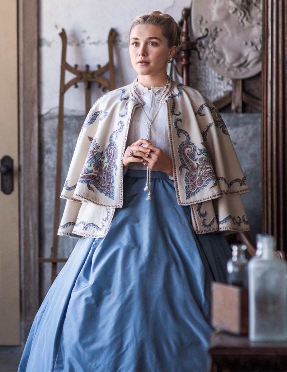 Trang phục ấn tượng của nhân vật Amy trong Little Women