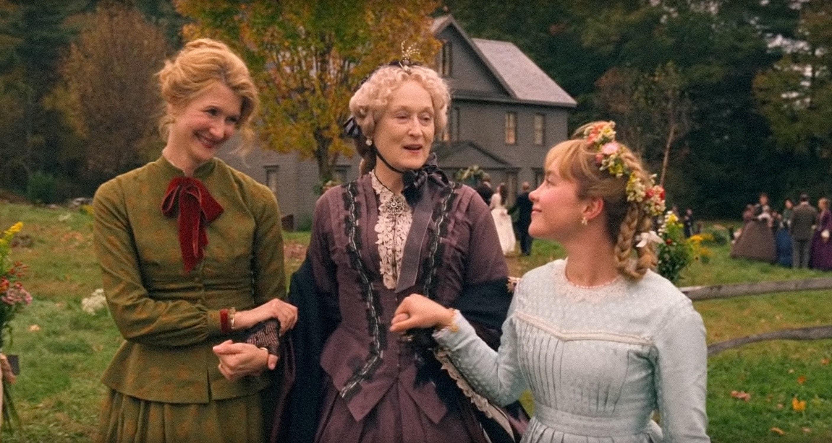Phục trang ấn tượng trong Little Women, xuất sắc giành tượng vàng tại lễ trao giải Oscar