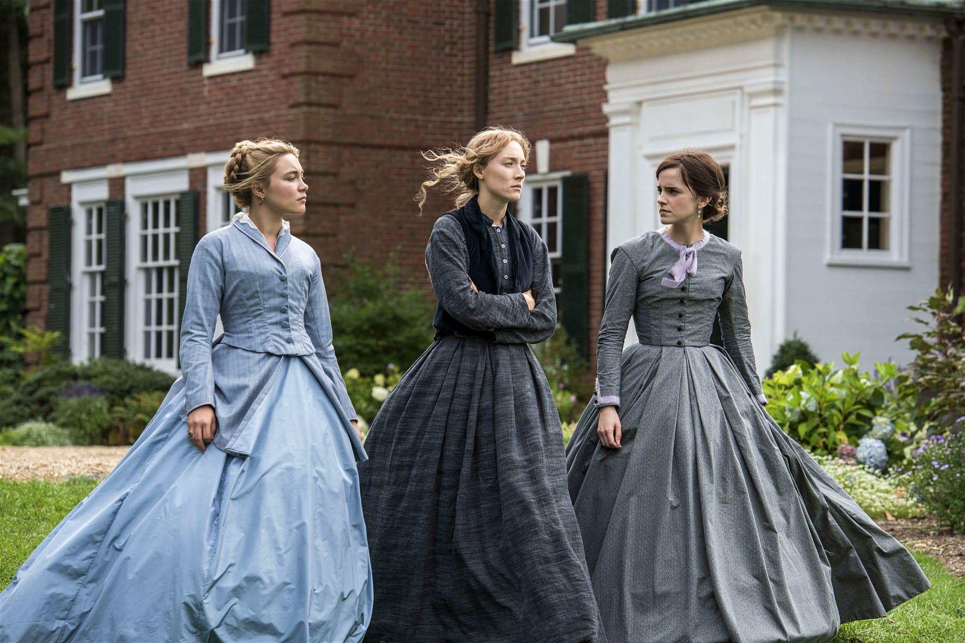 Bảng màu trang phục của chị em March trong Little Women - chủ nhân mới của giải phục trang tại lễ trao giải Oscar 2020