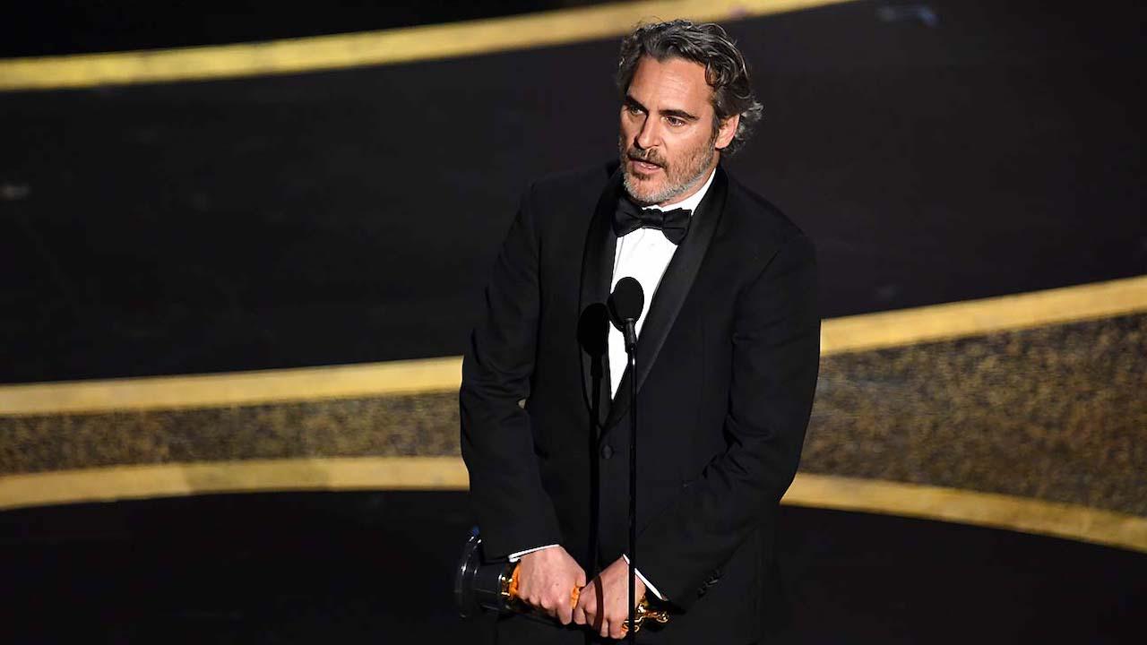 Joaquin Phoenix phát biểu nhận giải