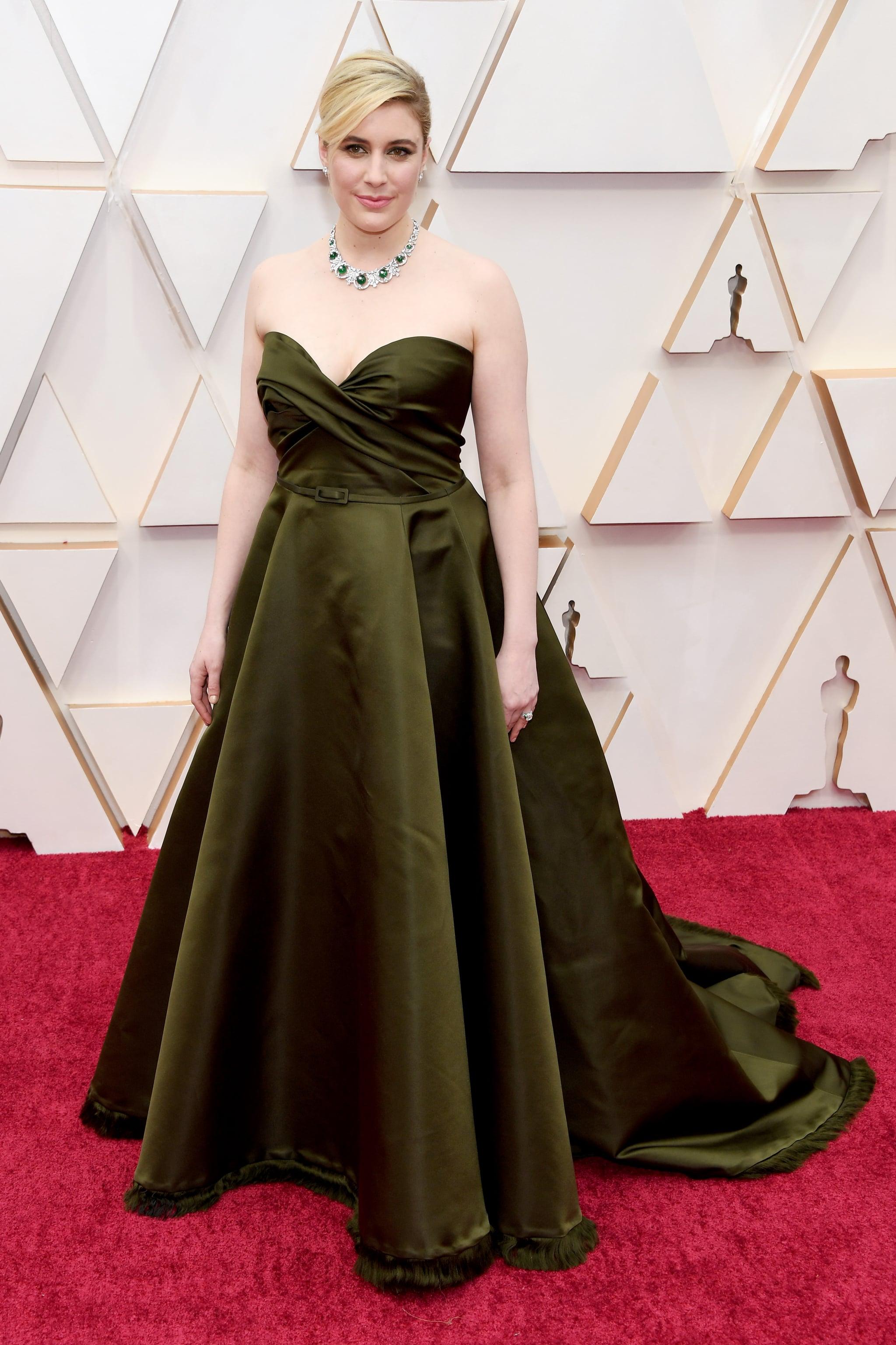 thảm đỏ oscar 2020 Greta Gerwig Dior Haute Couture