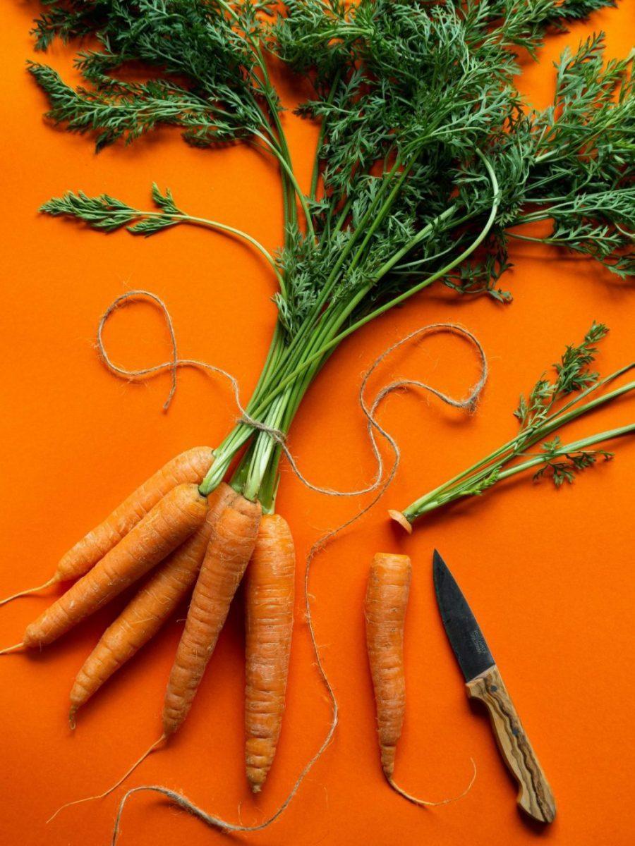 Thực phẩm làm trắng da-Bó cà rốt.