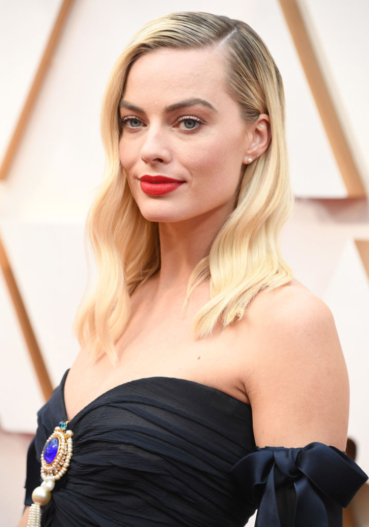 Margot Robbie với vẻ đẹp cuốn hút tại Lễ trao giải Oscar 2020.