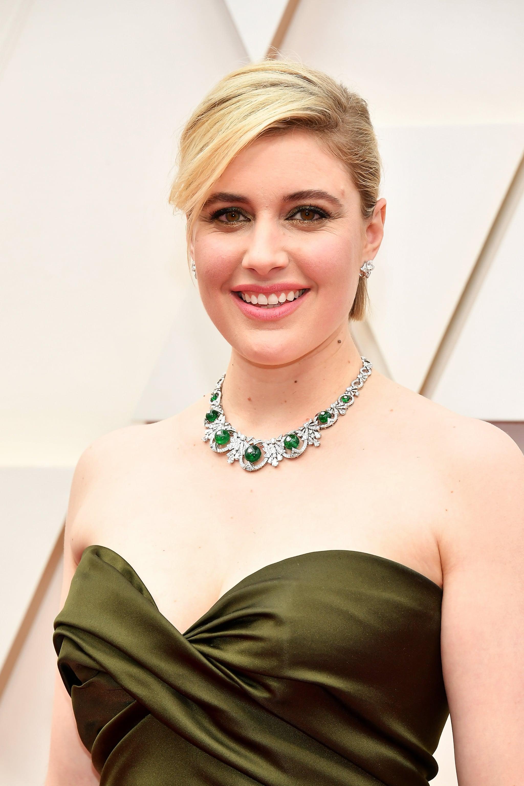Greta Gerwig nổi bật trên thảm đỏ Oscar 2020.