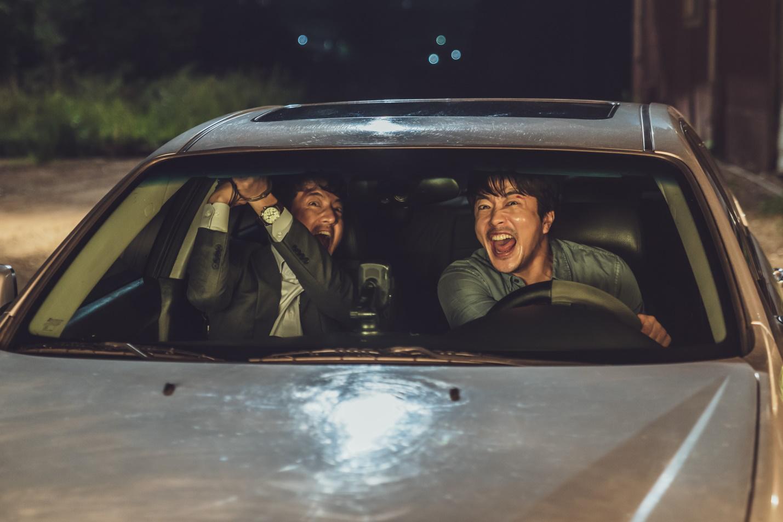 cảnh phim hài hước của kwon sang woo