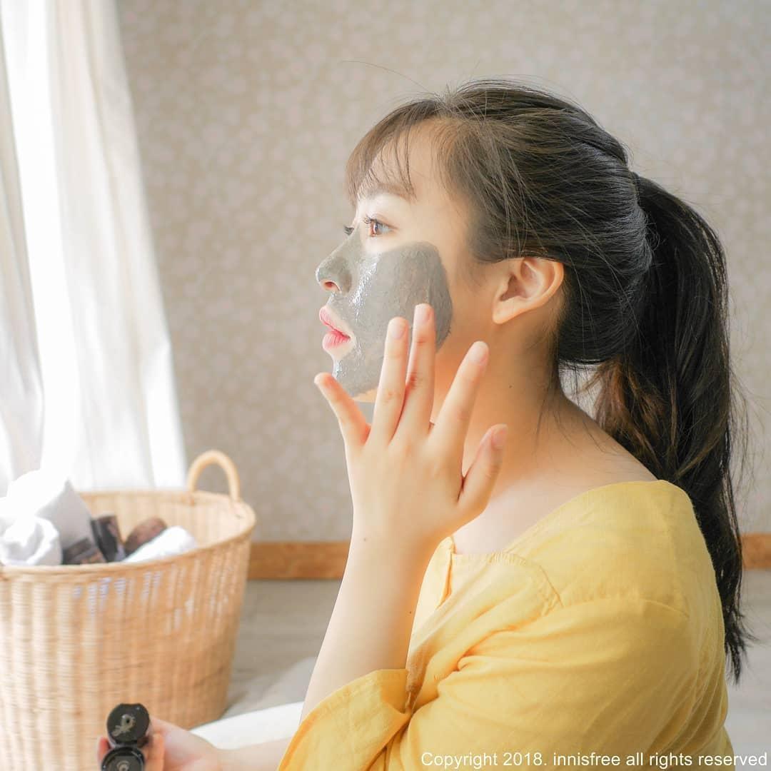 innisfree sản phẩm Jeju Volcanic Pore Clay Mask