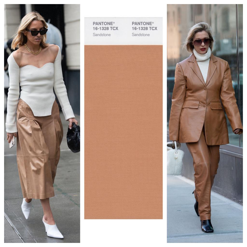 cách phối màu với sandtone của fashionista thế giới