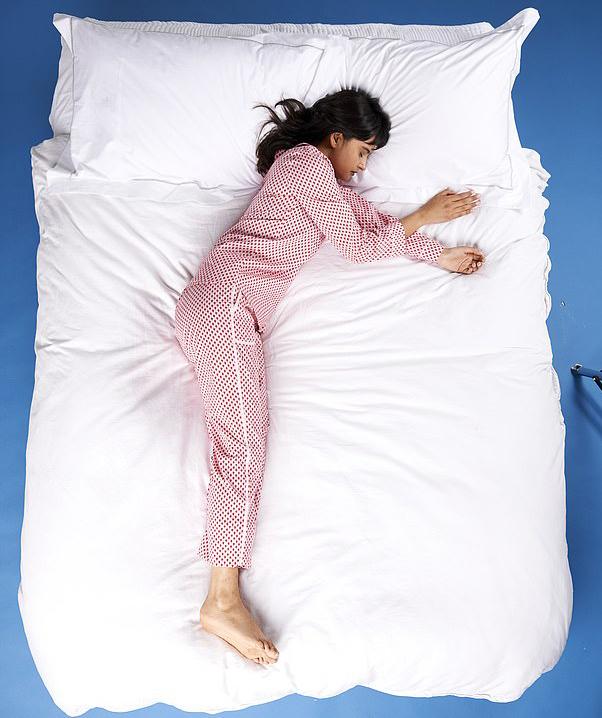 tư thế ngủ người mới