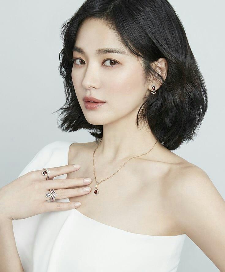 Kiểu tóc đẹp-Song Hye Kyo.