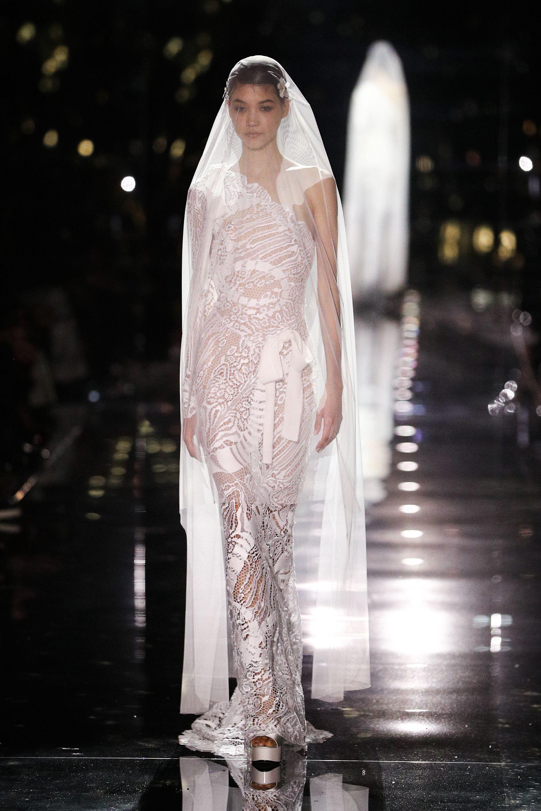 tuần lễ thời trang new york thu đông 2020 tom ford look 50