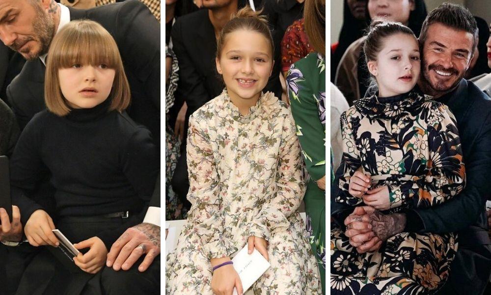 harper beckham qua 3 mùa mốt thời trang 2019 - 2020