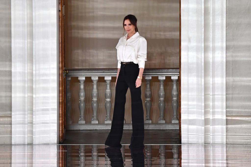 victoria beckham tuần lễ thời trang london thu đông 2020