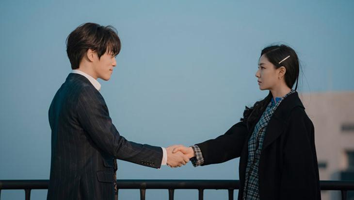 seo dan và gu seung jun crash alnding on you