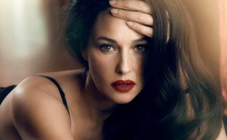 Màu son đẹp-Monica Bellucci.