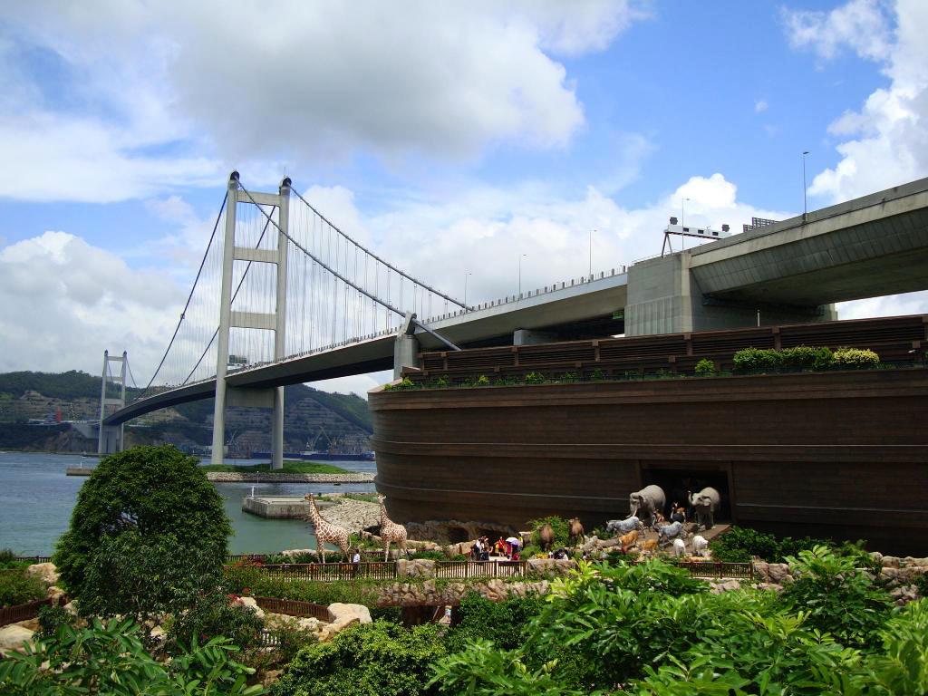 công viên Noah's Ark du lịch Hồng Kông